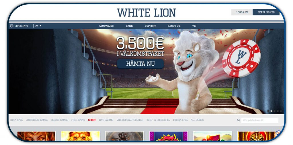 WhiteLion Casino