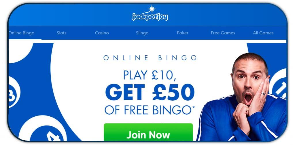jackpot joy casino online screenshot interface