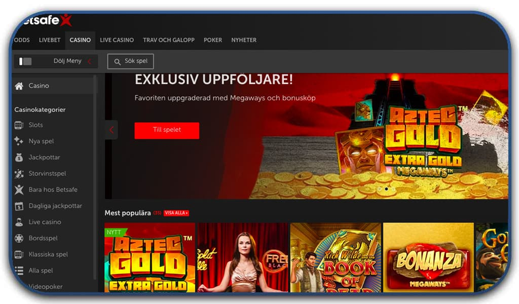 bestsafe casino screenshot