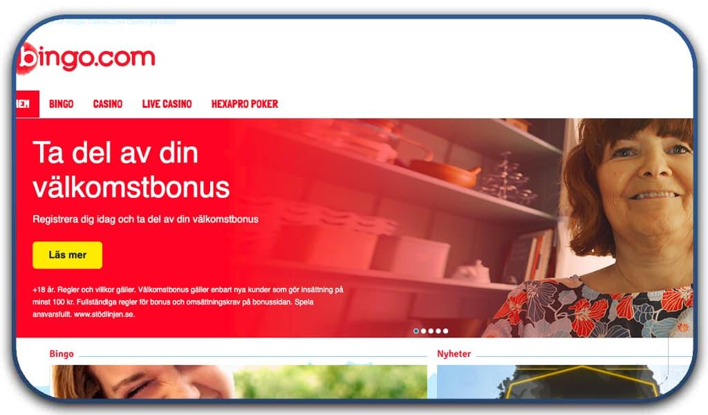 bingo.com homepage screenshot image