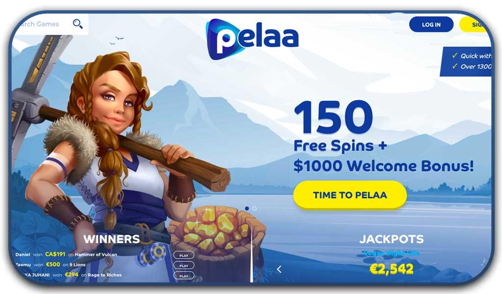 pelaa screenshot interface casino
