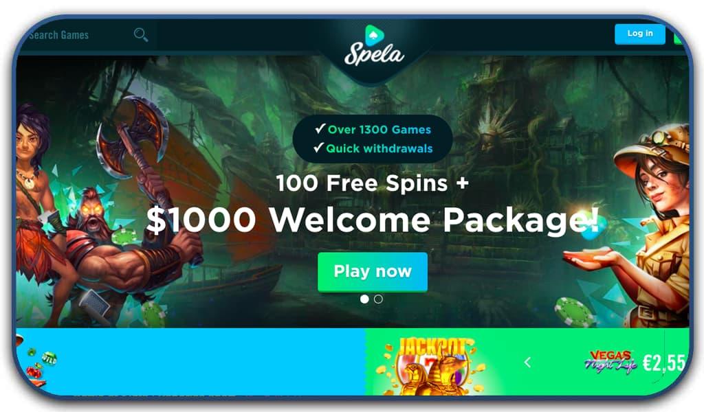 spela casino online screenshot